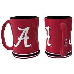 Buy Alabama Crimson Tide Coffee Mug - 15oz Sculpted by Caseys