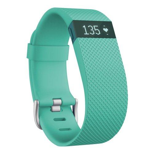 【日本正規代理店品】Fitbit ワイヤレス活動量計+心拍計リストバンド ChargeHR Small Teal FB405TES-JPN
