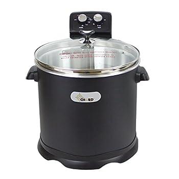 CHARD EDF-15 Electric Turkey Fryer, 16 Quart, Black