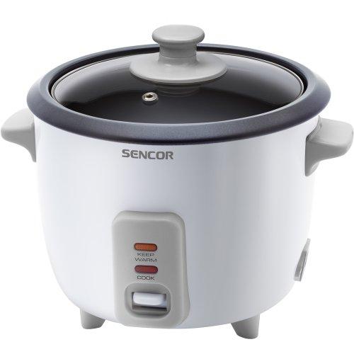 Sencor SRM 0600WH Cuiseur de riz - 300W - Volume de 0,6 l - pour cuire 450 g de riz