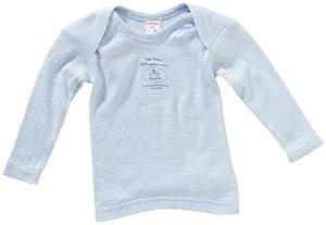 Lana Naturalwear - Camiseta interior a rayas para bebé