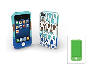 Tech Candy Rock Star Case Set for iPhone 4/4S (Fits AT&T, Verizon