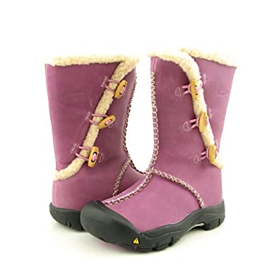 KEEN Kaley Purple Boots Shoes Youth Kids Girls Size 12