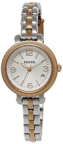 Fossil Analog White Dial Women's Watch- ES3217