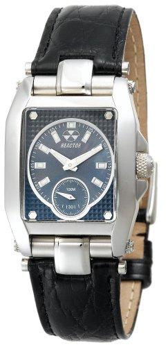 REACTOR Women's 97201 Fusion Black Pearl Dial Crocodile Strap Watch