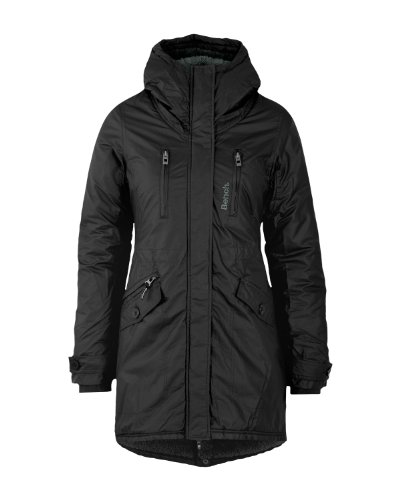 Bench Damen Parka TARA B, black,