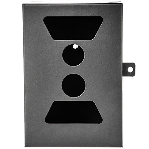 Ultrasport UmovE Metall-Schutzgehäuse mit Tür-Schlossvorrichtung für Überwachungskamera/Wildkamera Secure Guard Ready und Pro Ready