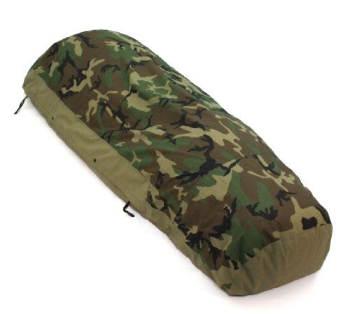 Woodland Camouflage Waterproof Bivy Cover