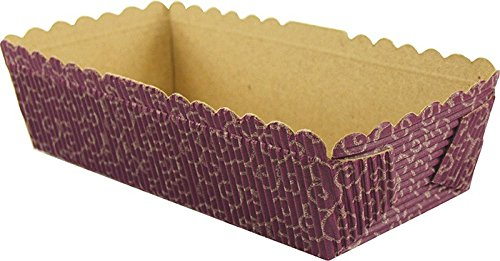 Fox Run Brands 44527 Japanese Design Loaf Pan Baking Papers, Small, Rectangular