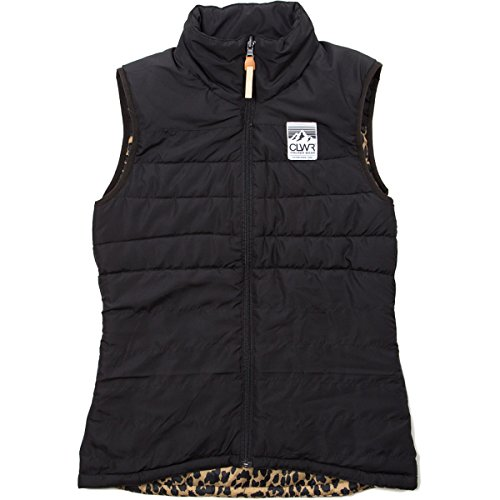 худи clwr clwr cl003emtqu27 CLWR Feather Reversible Insulated Vest - Women's
