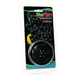 GloFish Round LED Bubbler with 6 Blue LEDS