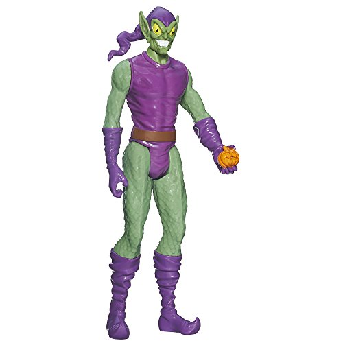 "Spider-Man Marvel Ultimate Titan Hero Series Green Goblin Figure, 12"" - 1"
