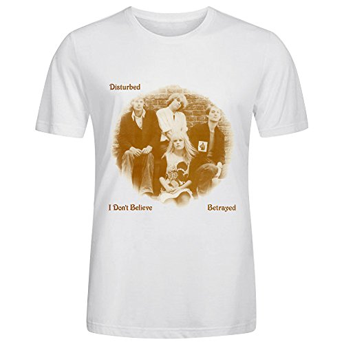 Disturbed I Don't Believe Men T-Shirt White