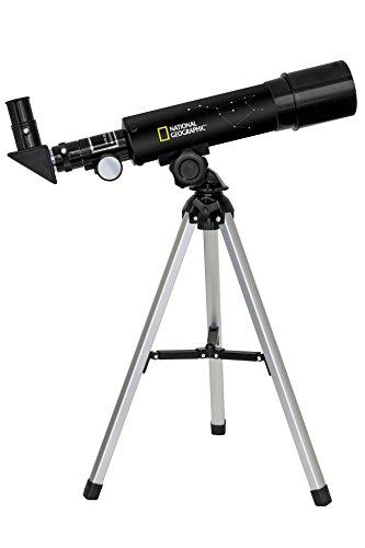NATIONAL GEOGRAPHIC TELESCOPIO AZ RIFRATTORE 50/360 CON ACCESSORI INCLUSI