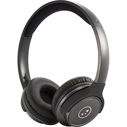 Able Planet SH190 Travelers Choice Stereo Headphones w/ LINX AUDIO & Inline Volume-Gun Metal