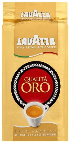 Lavazza Qualita ORO Coffee 250 g (Pack of 4)