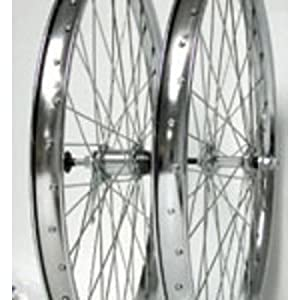 Wheel Master Rear Bicycle Wheel 26 x 1.75, 36H, Steel, Bolt On CB, Silver