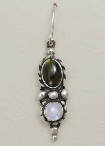 A Beautiful Combination of Gemstones Featuring Spectralite and Rainbow Moonstone