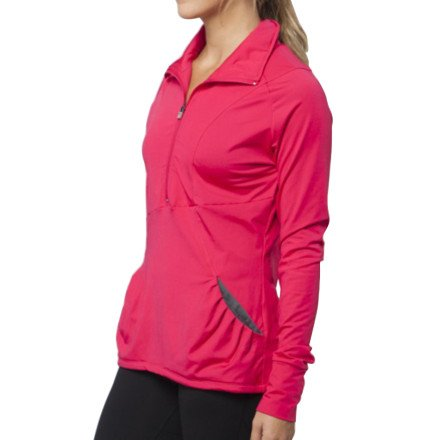 O'Neill Women'S Stratus Zip Pullover, Magenta, Large