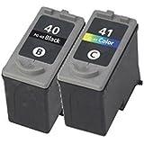 Inktoner Set 2 PG40 CL41 Ink for Canon PIXMA MX300, PIXMA MX310