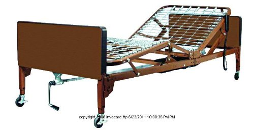 Single Motor Semi-Electric Home Care Bed Package, Semi Elctrc Bed Pkg Cmpst -Sp, (1 Each, 1 Each)