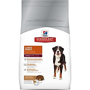 Hill's Science Diet Adult Lamb Meal & Rice Recipe Large Breed Dry Dog Food Bag, 33-Pound