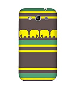 Stripes And Elephant Print (36) Samsung Galaxy Grand Quattro I8552 Case