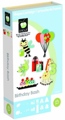 Cricut Birthday Bash Cartridge