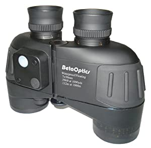BetaOptics Waterproof Marine Binocular with Compass 7x50