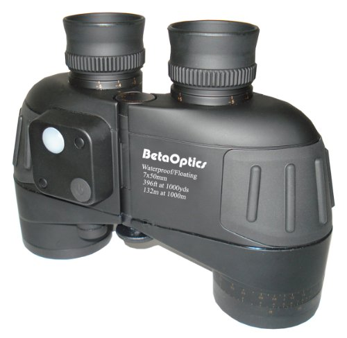 Betaoptics Waterproof Marine Binocular With Compass 7X50