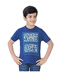 Mint Blue Cotton Boy's t-shirt