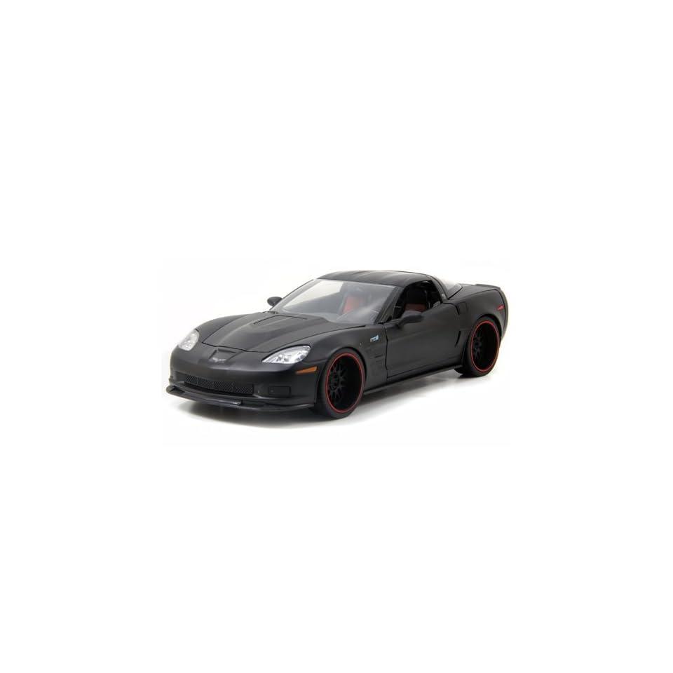2009 Chevy Corvette ZR1 118 Scale (Matte Black)