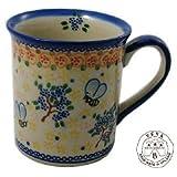 Classic Boleslawiec Pottery Hand Painted Ceramic Mug 0.35L 057-A-007