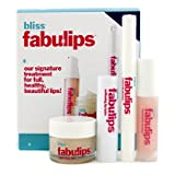 Bliss - Fabulips Treatment Kit: Lip Cleanser + Lip Scrub + Lip Plumper + Lip Balm - 4pcs