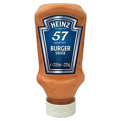 Heinz 57 Varieties Burger Sauce 225g - traditionelle 57 Burger Sauce von Heinz Co. Ltd. - Gewürze Shop
