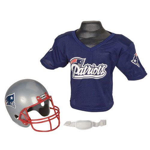 New England Patriots Youth NFL Helmet and Jersey Set New England Patriots Youth NFL Helmet and Jers at Amazon.com