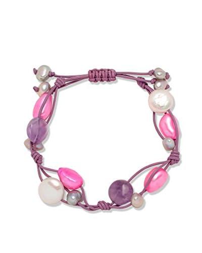 Pure Pearls Pulsera 60040118 Plateado