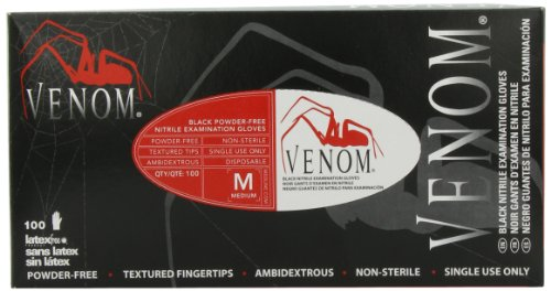 Medline Venom Non-Sterile Powder-Free Latex-Free Nitrile Exam Gloves