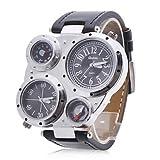 PREMIUM Commander Watch Armbanduhr - Schwarz