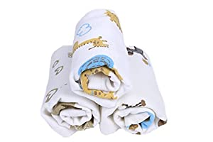 Baby Washcloths Bamboo, Organic, Luxury,Best for Reusable Baby Wipes-3 pk 12