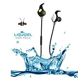 Bluetooth Headphones,aelec AC-BTE268 Magnetic Wireless Earbuds,Waterproof Headphones, Sweatproof In-Ear Sport Headset NFC CVC 6.0 Noise Cancelling for Running, Workout, Gym- Sports Earphones with Mic