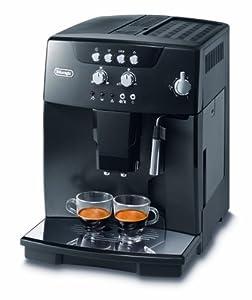 DeLonghi ECAM 04.110 B Kaffee-Vollautomat Magnifica III (1.8 l, 15 bar, Dampfdüse) schwarz