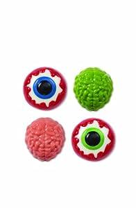 Wilton 2115-0223 Halloween Brain Candy Eyeball Cookie Mold