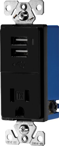 eaton-tr7740bk-combination-usb-charger-with-tamper-resistant-receptacle-2-pole-3-wire-grounding-blac