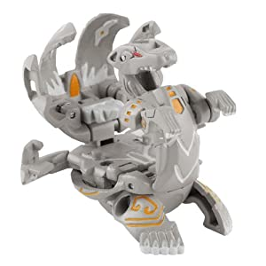 Bakugan Gundalian Invaders Deka Gray Lumagrowl Season 3 w/Bakucoin