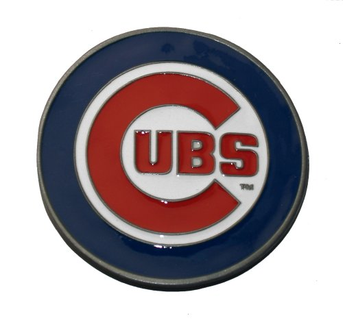Officially Licensed MLB Chicago Cubs Belt Buckle