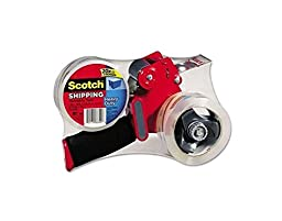 Doaaler(TM) Scotch Packing Tape Dispenser With 2 Rolls MMM 38502ST Dispenser - New Item