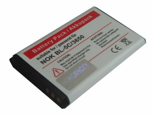 Batteria per NOKIA sostituisce BL-5C