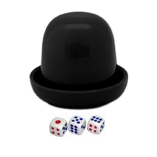 sourcingmap® Guessing Game a mano per sbattere, colore: nero con 3 riduce in plastica
