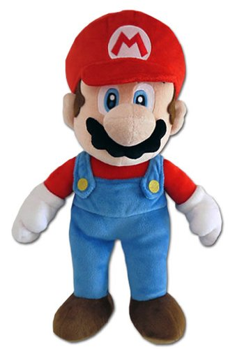 Peluche Mario - SUPER MARIO BROS - 25 cm